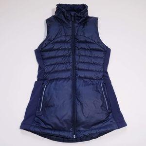 Lululemon Down For a Run Puffer Down Vest Black 4
